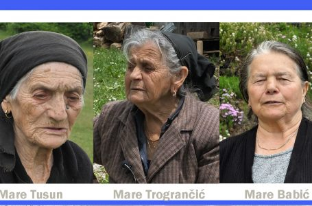Životne priče tri Mare:Za dug život potreban je rad i zdrava hrana
