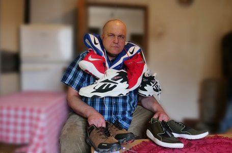 Ademov video o obući koju su mu darovali ljudi iz cijeloga svijeta za jednu noć vidjelo 150 tisuća ljudi diljem svijeta