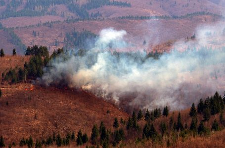 Stožer kantonalne civilne zaštite naredio zabranu paljenja vatre na otvorenom prostoru